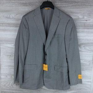 Hickey Freeman Wool Suit Jacket